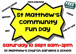 St Matthew's community fun day